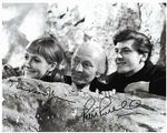 Maureen O'Brien and Peter Purves from DOCTOR WHO genuine signed autograph 11405